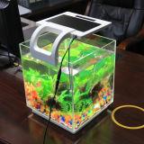 El pequeño tanque de pescados del nuevo de la patente de la opinión de pescados acuario de acrílico nano del tanque mini