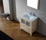 Vanité simple moderne de salle de bains de forces de défense principale d'évier