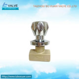 Stop de cobre amarillo Valve para Building Material (BX-3001)