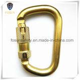 Schutz-Sicherheits-Abzuglinie-Seil Carabiner des Fall-45kn