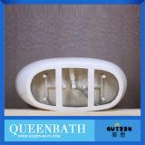 Bañera de encargo portable adulta de la talla; Bañera clara de la resina de acrílico (JR-B822)