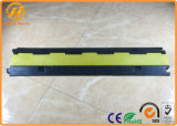 1000*220*30mm Outdoor Rubber Single Channel Cable Protector Flexible Hose Ramp