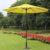 9개 발 크랭크와 경사 (황색)를 가진 장식적인 시장 우산