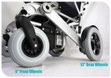 Tiny 6L plegable y portátil Silla de ruedas eléctrica