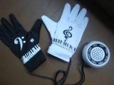 Перчатки электронных перчаток нот перчаток рояля электронные