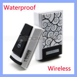 Wireless elegante Remote Control Receiver Waterproof Doorbell Operating en el 100m Range