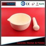 La alta calidad China hizo alúmina de la temperatura alta el 99% el mortero de cerámica