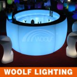 Tableau lumineux par compteur de barre d'éclairage LED de barre ronde de DEL