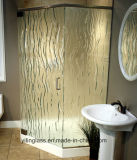 Het geharde of Aangemaakte Ondoorzichtige Glas van de Badkamers