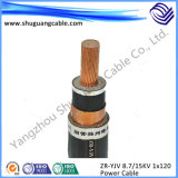 XLPE Insulation를 가진 PVC Sheath Electrical Power Cable