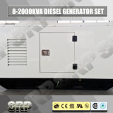 60Hz Geluiddichte Diesel die 15kVA Generator door Yangdong wordt aangedreven (SDG15KS)