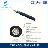 Огнезащитный центральный свободный кабель Gjfzy53 оптического волокна пробки