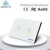 Sankou LED 2gang 1way Wall Light Touch Switchs