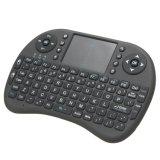 en el mini teclado sin hilos común I8 con el teclado del Touchpad 2.4G