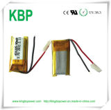 3.7V Rechargeable Small Thin Polymer Lithium Battery (90mAh)
