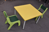 2 의자를 가진 최신 판매 아이들 테이블 (SF-24C)