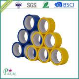 강한 접착을%s 가진 파랗고와 노란 색깔 BOPP 패킹 테이프