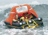 Balsa salvavidas al agua inflable Emergency del tiro