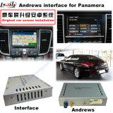 Auto-androide Navigations-videoschnittstelle für Porsche Macan, Cayennepfeffer, Panamera; Noten-Navigation, WiFi, BT, Mirrorlink, HD 1080P ausbauen