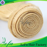 100%の人間の自然な毛のバージンの毛の拡張