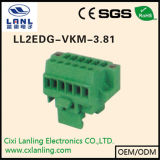 Ll2edg GB 3.81 Pluggable 끝 구획 연결관