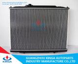 Coche de aluminio Radiatore de la alta calidad del radiador del agua de motor de enfriamiento del sistema del radiador al por mayor del gasóleo
