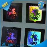 Laser anti-contraffazione Sticker/Security Hologram Sticker di Seucritiy Packaging Custom Print 3D