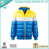Контраста цвета фабрика Dongguan куртки вниз сразу