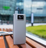 Interpréteur de commandes interactif en aluminium de capacité de haute énergie avec l'écran à cristaux liquides du côté mobile de pouvoir de bloc d'alimentation de téléphone mobile