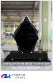Diamant van het Graniet van Shanxi sneed de Zwarte Rechte Grafsteen