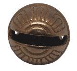 حصان حجر السّامة [سلي] [بلّ] في صلبة نحاس أصفر أو فضة عمليّة صقل