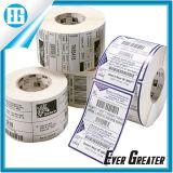 卸し売り習慣の明白な印刷の単一の白いラベルの印刷