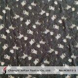 Lacet et tissu élastiques noirs épais (M3072-1)