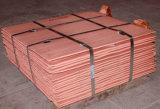 99.99% Fábrica de cobre pura do cátodo