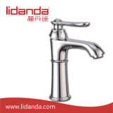 Brass antiguo Basin Mixer con Chrome Finish