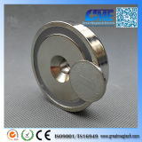 Dia 6 N42 Pot 0 X15 mm M8 Countersunk NdFeB Permanent Magnet