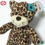 Panther Pattern Tender Kisses Kitten Soft Stuffed Cat Toy
