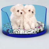 卸し売り贅沢で明確なアクリルの飼い犬のベッド