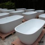 Cuba de banho autônoma de pedra artificial branca do estilo de 2017 italianos