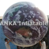 Full Print Large Inflatable Planet Balloon para exibição de TV