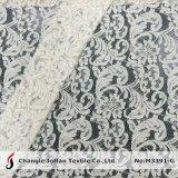 Tissu de lacet de cordon de robe de mariage (M3391-G)