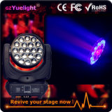 Guangzhou Hot Sale 19PCS LED Moving Head Zoom Light