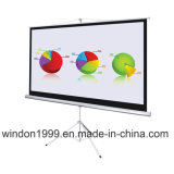 8 ' x8 Stativ-Projektions-Bildschirm-beweglicher Projektor-Bildschirm für Schule