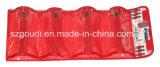 Vier Taschen PVC-Reißverschluss-kundenspezifische Toilettenartikel-Verfassungs-kosmetischer Fall