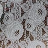 Tissus de lacet de plaque d'automne de coton de broderie pour des vêtements et des habillements
