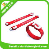 El caucho promocional de los regalos 3D modificó los mecanismos impulsores del flash para requisitos particulares del USB del PVC (SLF-RU025)