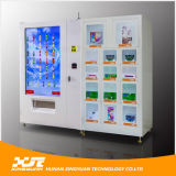 세륨과 ISO 9001 Certificate에 Drink Snack를 위한 주문을 받아서 만들어진 55 Inches Touch Screen Vending Machine와 Gift