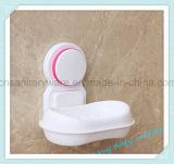 غرفة حمّام أسلوب بيضويّة بيضاء [أبس] مصّ فنجان صابون وعاء صندوق حامل