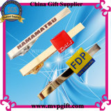 Barre de cravate métallique avec logo d'impression (m-TB04)