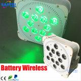 1개의 무선 건전지 빛에 대하여 RGBW 12PCS*10W LED 4